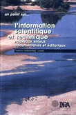 L'information scientifique et technique
