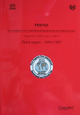 FRIEND Report - Flow Regimes from International Experimental and Network Data