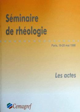 Séminaire de rhéologie