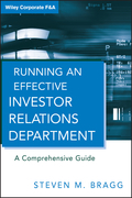 Running an Effective Investor Relations Department