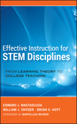 Effective Instruction for STEM Disciplines