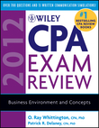 Wiley CPA Exam Review 2012, Business Environment and Concepts