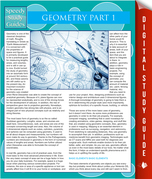 Geometry Part 1 (Speedy Study Guides)