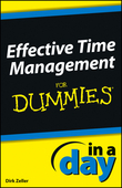 Effective Time Management In a Day For Dummies
