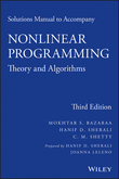 Solutions Manual to accompany Nonlinear Programming