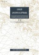 L'Analisi Linguistica e Letteraria 2014