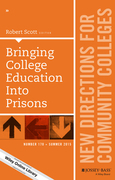 Bringing College Education into Prisons