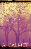 Dissertation on ghosts, demons and vampires