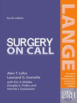 Surgery On Call, Fourth Edition