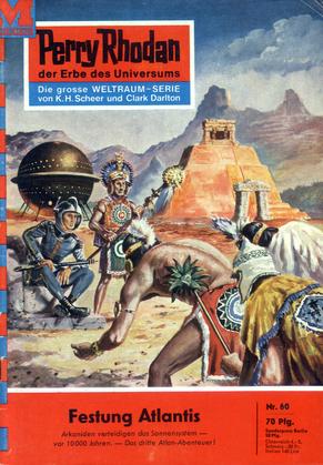 Perry Rhodan 60: Festung Atlantis (Heftroman)