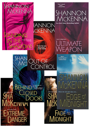 Shannon Mckenna's McCloud Brothers Bundle: Fade to Midnight, Behind Closed Doors, Standing in the Shadows, Out of Control, Edge of Midnight, Extreme D