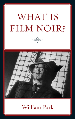 What is Film Noir?
