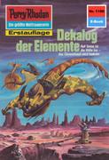 Perry Rhodan 1186: Dekalog der Elemente (Heftroman)