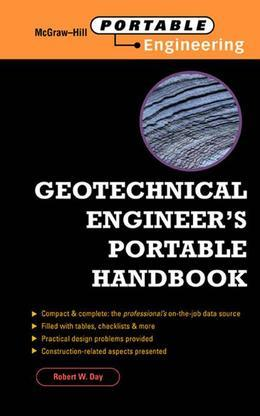 Geotechnical Engineers Portable Handbook (EBOOK)