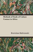 Methods of Study of Culture Contact in Africa