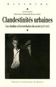 Clandestinités urbaines