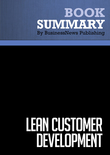Summary : Lean Customer Development - Cindy Alvarez