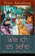 Wie ich es sehe (Skizzen aus dem Wiener Alltagsleben) - Vollständige Ausgabe
