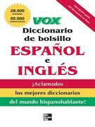 VOX Diccionario de bolsillo espanol y ingles