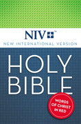 NIV, Holy Bible, eBook, Red Letter Edition