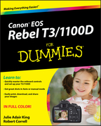 Canon EOS Rebel T3/1100d for Dummies