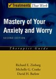 Mastery of Your Anxiety and Worry (MAW):  Therapist Guide