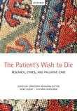 The Patients Wish to Die: Research, Ethics, and Palliative Care