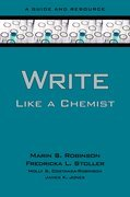 Write Like a Chemist: A Guide and Resource