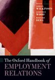 The Oxford Handbook of Employment Relations: Comparative Employment Systems