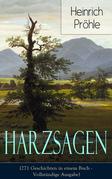 Harzsagen (271 Geschichten in einem Buch - Vollständige Ausgabe)