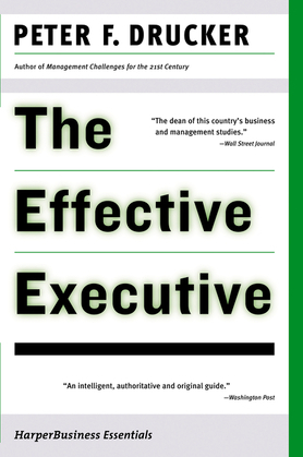 The Effective Executive