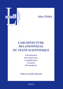 L'architecture relationnelle du texte scientifique