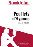 Feuillets d'Hypnos de Ren Char (Fiche de lecture)