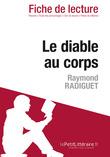 Le diable au corps de Raymond Radiguet (Fiche de lecture)