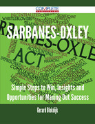 Sarbanes-Oxley - Simple Steps to Win, Insights and Opportunities for Maxing Out Success
