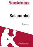 Salammb de Flaubert (Fiche de lecture)
