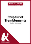 Stupeur et tremblements de Amlie Nothomb (Fiche de lecture)