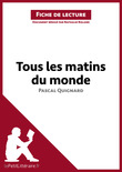 Tous les matins du monde de Pascal Quignard (Fiche de lecture)