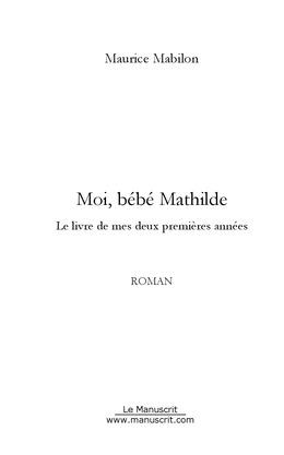 Moi, bébé Mathilde
