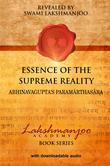 Essence of the Supreme Reality: ¿Abhinavagupta's Parama¯rthasa¯ra