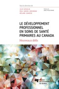 Le développement professionnel en soins de santé primaires au Canada