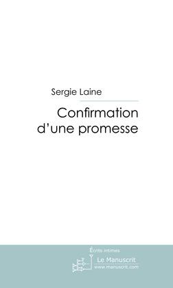 Confirmation d'une promesse