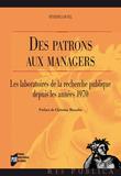 Des patrons aux managers