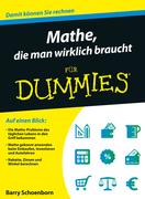 Mathe, die man wirklich braucht fr Dummies