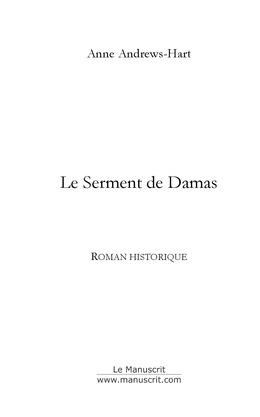 Le Serment de Damas