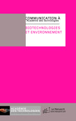 Biotechnologie et environnement