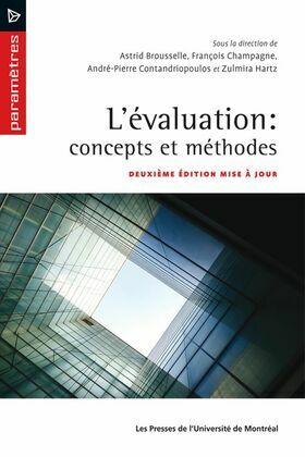 L'évaluation: concepts et méthodes