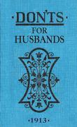 Don&#146;ts for Husbands: ebook ePub
