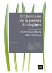 Dictionnaire de la pensée écologique