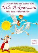 Die wunderbare Reise des kleinen Nils Holgersson mit den Wildgänsen - Kinderbuch-Klassiker zum Lesen und Vorlesen (Illustrierte Ausgabe Nils Holgerson)